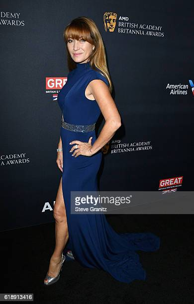 Actress Jane Seymour attends the 2016 AMD British Academy Britannia Awards presented by Jaguar Land Rover and American Airlines at The Beverly Hilton...
