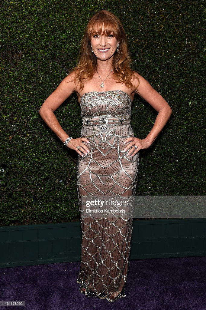 Actress <a gi-track='captionPersonalityLinkClicked' href=/galleries/search?phrase=Jane+Seymour+-+Actress&family=editorial&specificpeople=203060 ng-click='$event.stopPropagation()'>Jane Seymour</a> attends the 23rd Annual Elton John AIDS Foundation Academy Awards Viewing Party on February 22, 2015 in Los Angeles, California.