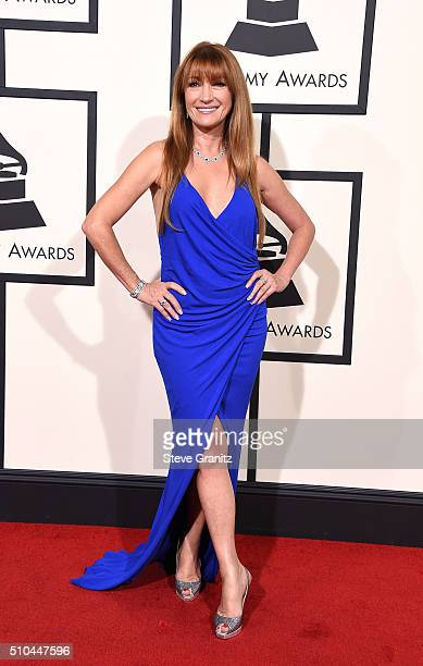 Actress Jane Seymour attends The 58th GRAMMY Awards at Staples Center on February 15 2016 in Los Angeles California