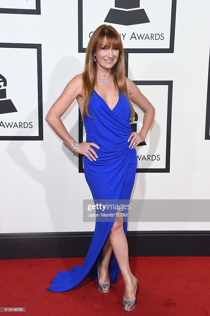 Actress <a gi-track='captionPersonalityLinkClicked' href=/galleries/search?phrase=Jane+Seymour+-+Actress&family=editorial&specificpeople=203060 ng-click='$event.stopPropagation()'>Jane Seymour</a> attends The 58th GRAMMY Awards at Staples Center on February 15, 2016 in Los Angeles, California.