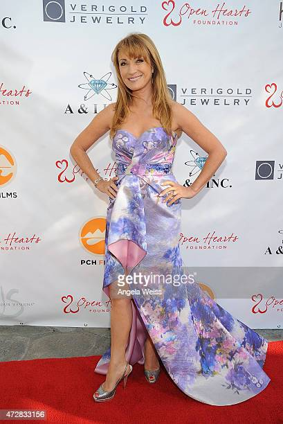 Actress Jane Seymour attends the 5th Annual Open Hearts Foundation Gala on May 9 2015 in Malibu California