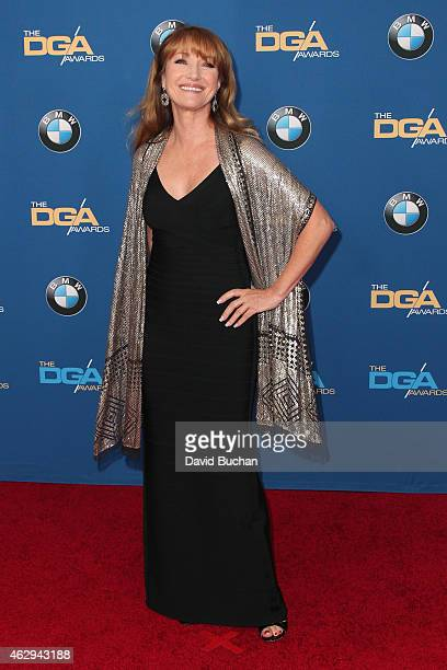 Actress Jane Seymour attends the 67th Annual Directors Guild Of America Awards at the Hyatt Regency Century Plaza on February 7 2015 in Century City...