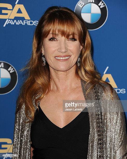 Actress Jane Seymour attends the 67th annual Directors Guild of America Awards at the Hyatt Regency Century Plaza on February 7 2015 in Los Angeles...