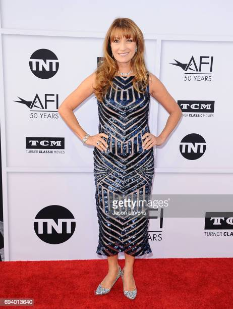 Actress Jane Seymour attends the AFI Life Achievement Award gala at Dolby Theatre on June 8 2017 in Hollywood California