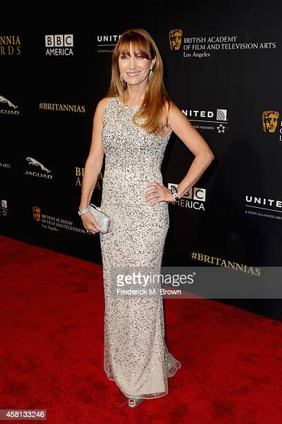 Actress Jane Seymour attends the BAFTA Los Angeles Jaguar Britannia Awards presented by BBC America and United Airlines at The Beverly Hilton Hotel...