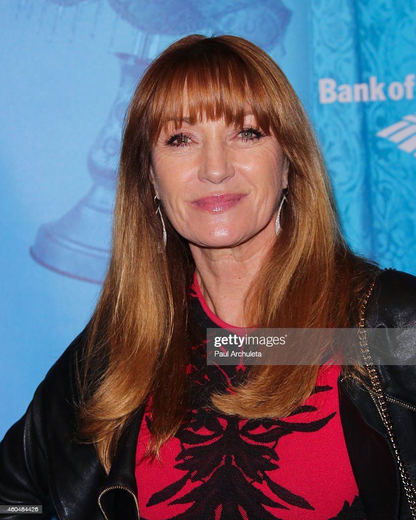 Actress <a gi-track='captionPersonalityLinkClicked' href=/galleries/search?phrase=Jane+Seymour+-+Actress&family=editorial&specificpeople=203060 ng-click='$event.stopPropagation()'>Jane Seymour</a> attends the 'Blithe Spirit' opening night performance at The Ahmanson Theatre on December 14, 2014 in Los Angeles, California.
