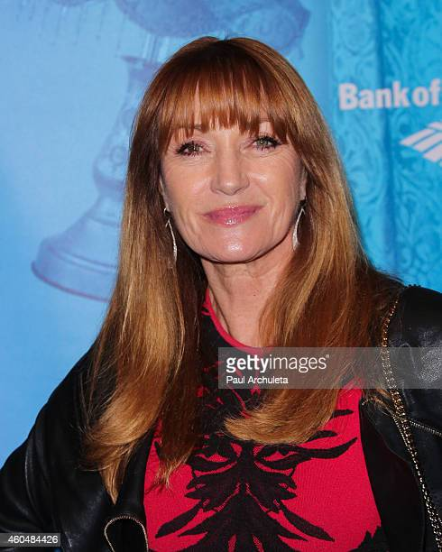 Actress Jane Seymour attends the 'Blithe Spirit' opening night performance at The Ahmanson Theatre on December 14 2014 in Los Angeles California