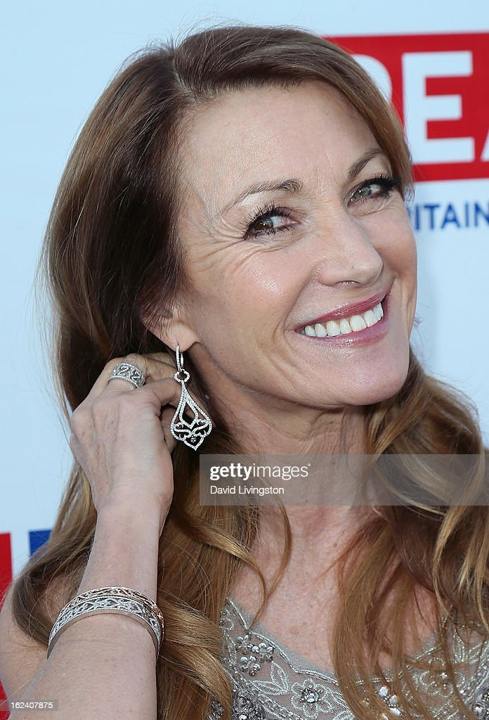 Actress Jane Seymour attends the GREAT British Film Reception at the British Consul General's Residence on February 22, 2013 in Los Angeles, California.