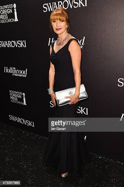 Actress Jane Seymour attends the Hollywood Reporter and Swarovski party during the 68th annual Cannes Film Festival on May 14 2015 in Cannes France