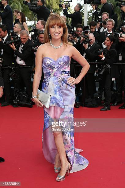 Actress Jane Seymour attends the opening ceremony and premiere of 'La Tete Haute' during the 68th annual Cannes Film Festival on May 13 2015 in...