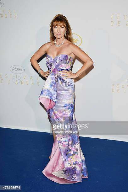 Actress Jane Seymour attends the opening ceremony dinner during the 68th annual Cannes Film Festival on May 13 2015 in Cannes France