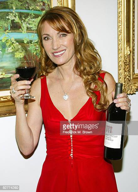 Actress Jane Seymour attends the opening of her new art gallery on May 7 2005 in Los Angeles California