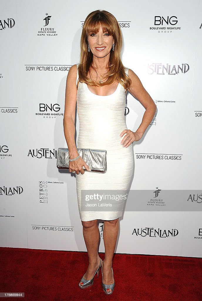 Actress Jane Seymour attends the premiere of 'Austenland' at ArcLight Hollywood on August 8, 2013 in Hollywood, California.