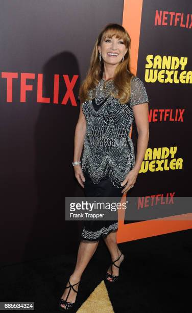 Actress Jane Seymour attends the premiere of Netflix's 'Sandy Wexler' at the ArcLight Cinemas Cinerama Dome on April 6 2017 in Hollywood California