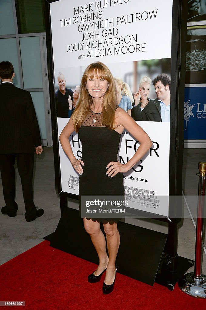 Actress Jane Seymour attends the premiere of Roadside Attractions' 'Thanks For Sharing' at ArcLight Cinemas on September 16, 2013 in Hollywood, California.