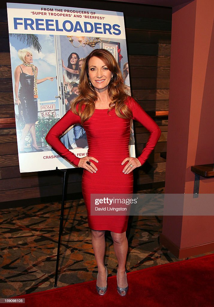 Actress Jane Seymour attends the premiere of Salient Media's 'Freeloaders' at Sundance Cinema on January 7, 2013 in Los Angeles, California.