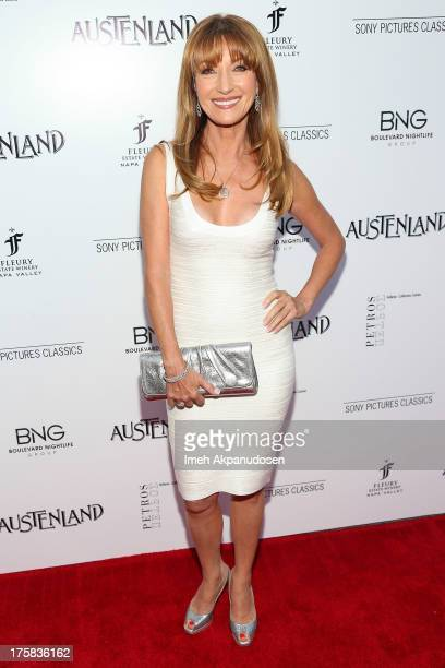 Actress Jane Seymour attends the premiere of Sony Pictures Classics' 'Austenland' at ArcLight Hollywood on August 8 2013 in Hollywood California