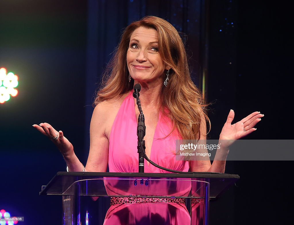 Actress Jane Seymour onstage at The 17th Annual Art Directors Guild Awards, held at the Beverly Hilton Hotel on February 2, 2013 in Beverly Hills, California.