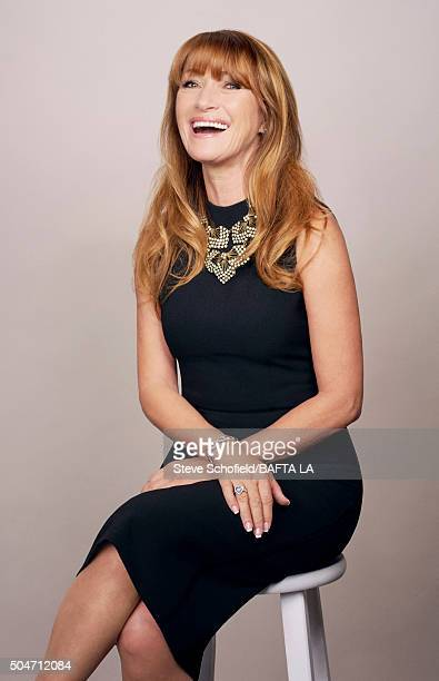 Actress Jane Seymour poses for a portrait at the BAFTA Los Angeles Awards Season Tea at the Four Seasons Hotel on January 9 2016 in Los Angeles...