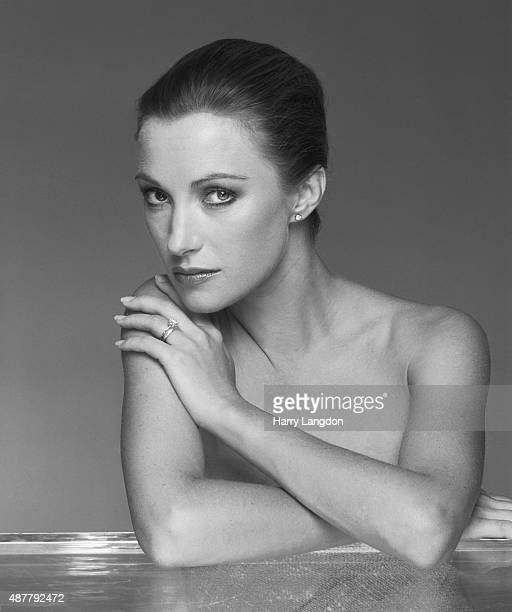Actress Jane Seymour poses for a portrait in 1985 in Los Angeles California