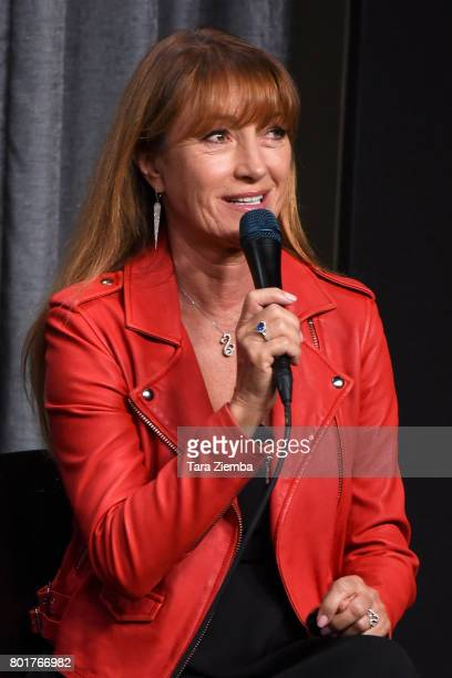 Actress Jane Seymour speaks at SAGAFTRA Foundation Conversations Screening Of 'Pray For Rain' at SAGAFTRA Foundation Screening Room on June 26 2017...
