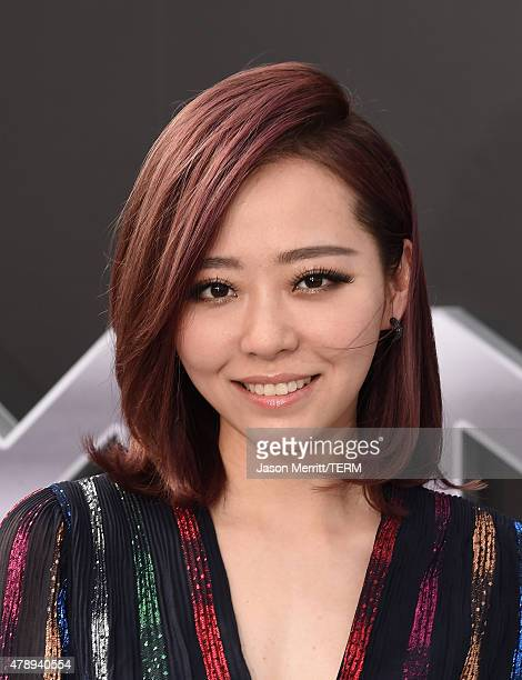 Actress Jane Zhang arrives at the premiere of Paramount Pictures' 'Terminator Genisys' at the Dolby Theatre on June 28 2015 in Hollywood California