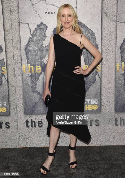 Actress Janel Moloney arrives at the Season 3 Premiere of 'The Leftovers' at Avalon Hollywood on April 4 2017 in Los Angeles California