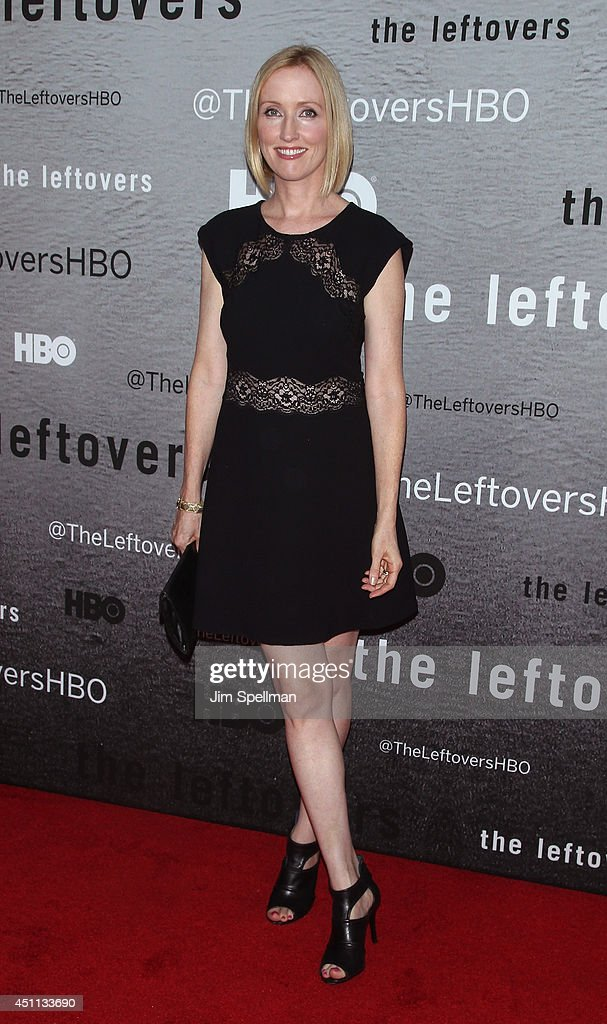 Actress <a gi-track='captionPersonalityLinkClicked' href=/galleries/search?phrase=Janel+Moloney&family=editorial&specificpeople=213407 ng-click='$event.stopPropagation()'>Janel Moloney</a> attends 'The Leftovers' premiere at NYU Skirball Center on June 23, 2014 in New York City.