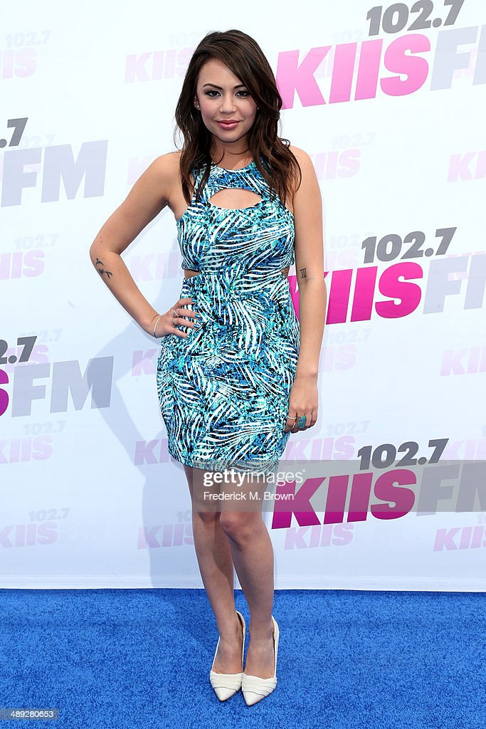 Actress <a gi-track='captionPersonalityLinkClicked' href=/galleries/search?phrase=Janel+Parrish&family=editorial&specificpeople=4380531 ng-click='$event.stopPropagation()'>Janel Parrish</a> attends 102.7 KIIS FM's 2014 Wango Tango at StubHub Center on May 10, 2014 in Los Angeles, California.
