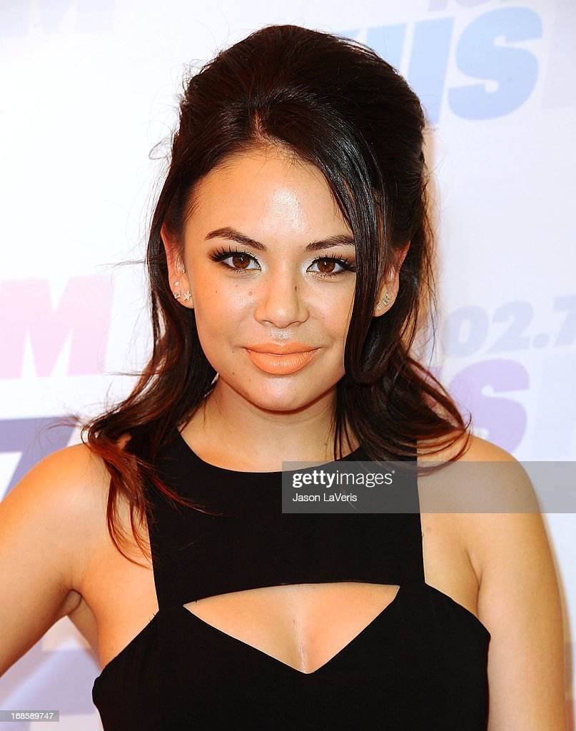 Actress <a gi-track='captionPersonalityLinkClicked' href=/galleries/search?phrase=Janel+Parrish&family=editorial&specificpeople=4380531 ng-click='$event.stopPropagation()'>Janel Parrish</a> attends 102.7 KIIS FM's Wango Tango at The Home Depot Center on May 11, 2013 in Carson, California.