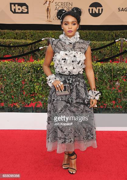 Actress Janelle Monae arrives at the 23rd Annual Screen Actors Guild Awards at The Shrine Expo Hall on January 29 2017 in Los Angeles California