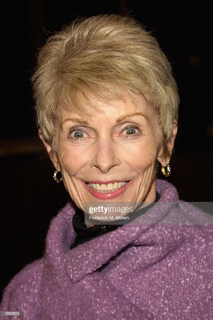 Actress Janet Leigh attends the film premiere of 'A Mighty Wind' at the Director's Guild of America on April 14, 2003 in Hollywood, California. The film opens in theaters on April 16, 2003.
