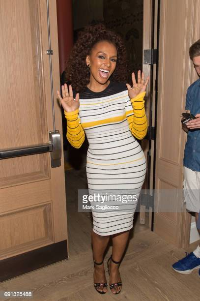 Actress Janet Mock attends the 'Daytime Diva's' New York Screening at the Whitby Hotel on June 1 2017 in New York City