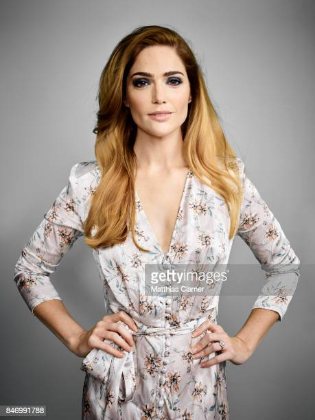 Actress Janet Montgomery from 'Salem' is photographed for Entertainment Weekly Magazine on July 22 2016 at Comic Con in the Hard Rock Hotel in San...