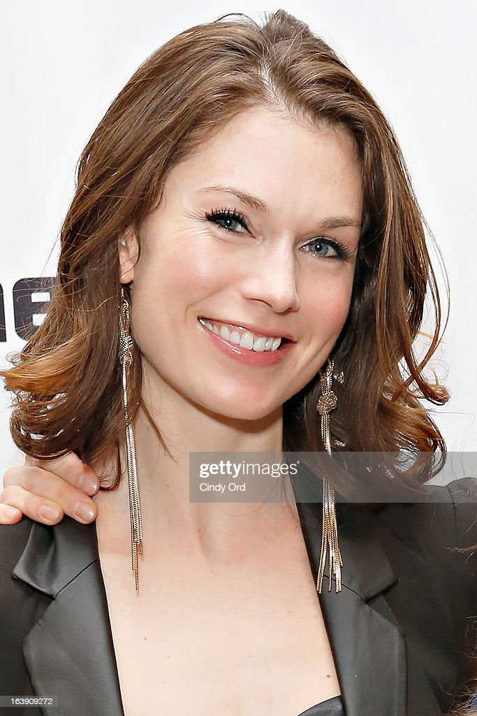 Actress Janie Brookshire attends 'The Mound Builders' Opening Night Party at Signature Theatre Company's The Pershing Square Signature Center on March 17, 2013 in New York City.