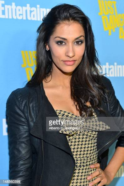 Actress Janina Gavankar attends Entertainment Weekly's 6th Annual ComicCon Celebration sponsored by Just Dance 4 held at the Hard Rock Hotel San...