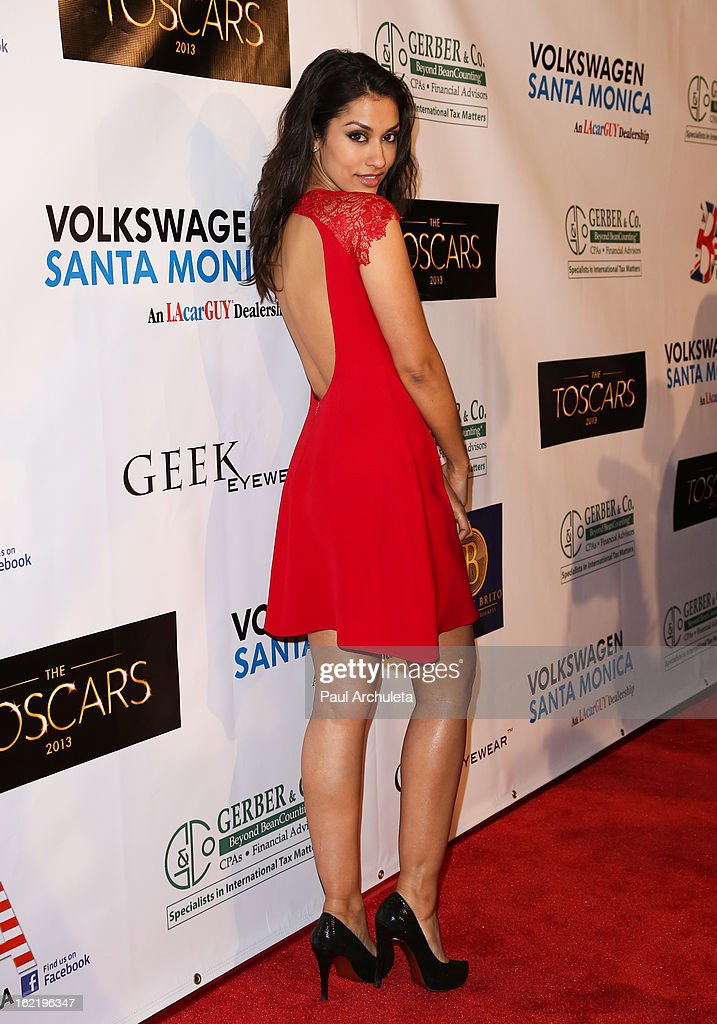 Actress Janina Gavankar attends the 6th annual Toscar Awards at the Egyptian Theatre on February 19, 2013 in Hollywood, California.