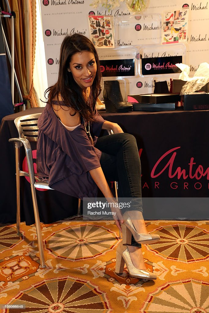 Actress <a gi-track='captionPersonalityLinkClicked' href=/galleries/search?phrase=Janina+Gavankar&family=editorial&specificpeople=4108619 ng-click='$event.stopPropagation()'>Janina Gavankar</a> attends the HBO Luxury Lounge in honor of the 70th Annual Golden Globe Awards at Four Seasons Hotel Los Angeles at Beverly Hills on January 12, 2013 in Beverly Hills, California.