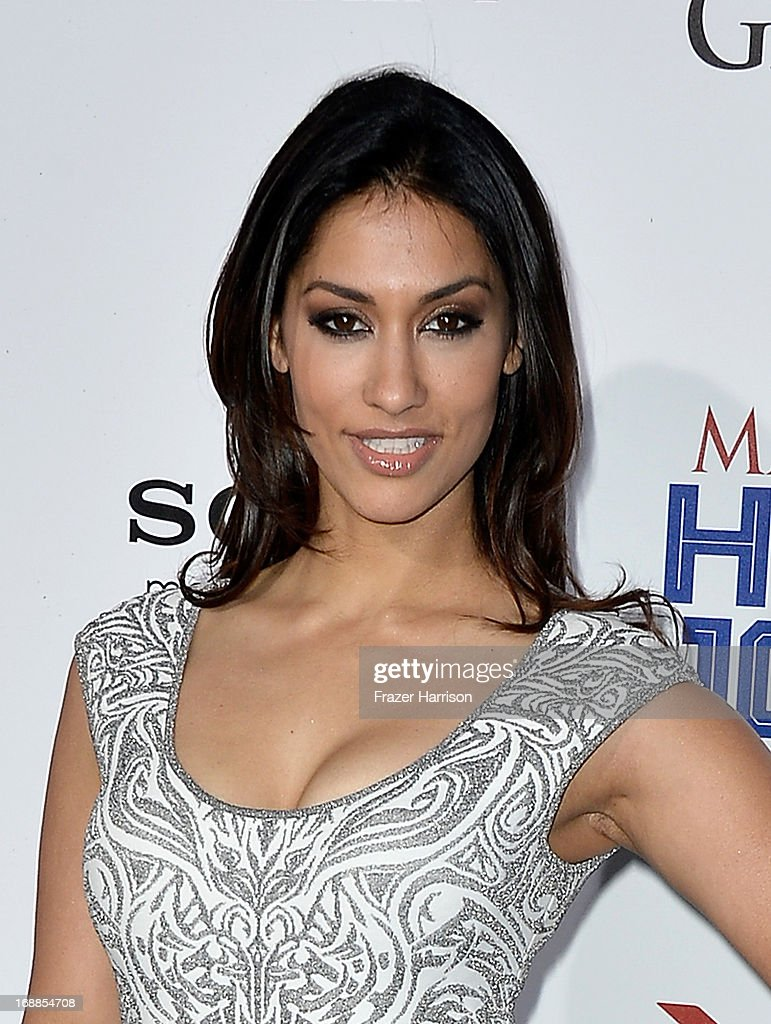 Actress <a gi-track='captionPersonalityLinkClicked' href=/galleries/search?phrase=Janina+Gavankar&family=editorial&specificpeople=4108619 ng-click='$event.stopPropagation()'>Janina Gavankar</a> attends the Maxim Hot 100 Party at Create on May 15, 2013 in Hollywood, California.