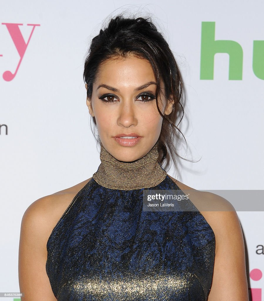 Actress Janina Gavankar attends 'The Mindy Project' final season premiere party at The London West Hollywood on September 12, 2017 in West Hollywood, California.