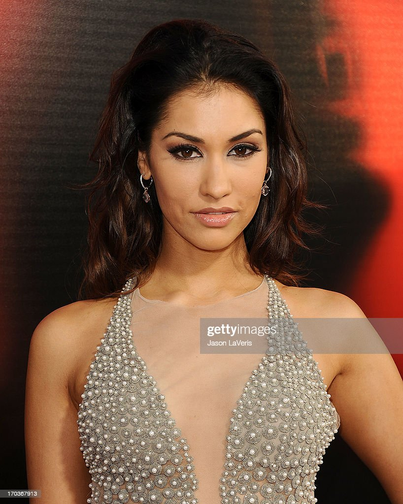 Actress <a gi-track='captionPersonalityLinkClicked' href=/galleries/search?phrase=Janina+Gavankar&family=editorial&specificpeople=4108619 ng-click='$event.stopPropagation()'>Janina Gavankar</a> attends the season 6 premiere of HBO's 'True Blood' at ArcLight Cinemas Cinerama Dome on June 11, 2013 in Hollywood, California.