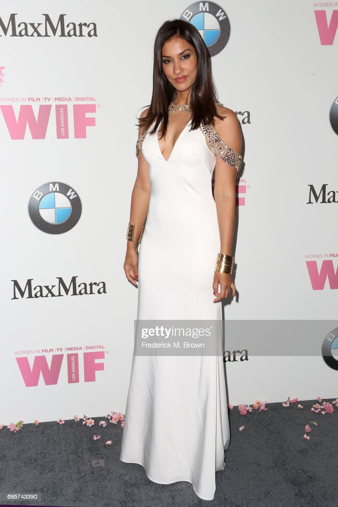 Actress Janina Gavankar attends the Women In Film 2017 Crystal + Lucy Awards presented By Max Mara and BMW at The Beverly Hilton Hotel on June 13, 2017 in Beverly Hills, California.