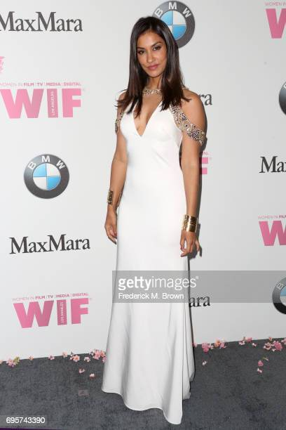 Actress Janina Gavankar attends the Women In Film 2017 Crystal Lucy Awards presented By Max Mara and BMW at The Beverly Hilton Hotel on June 13 2017...