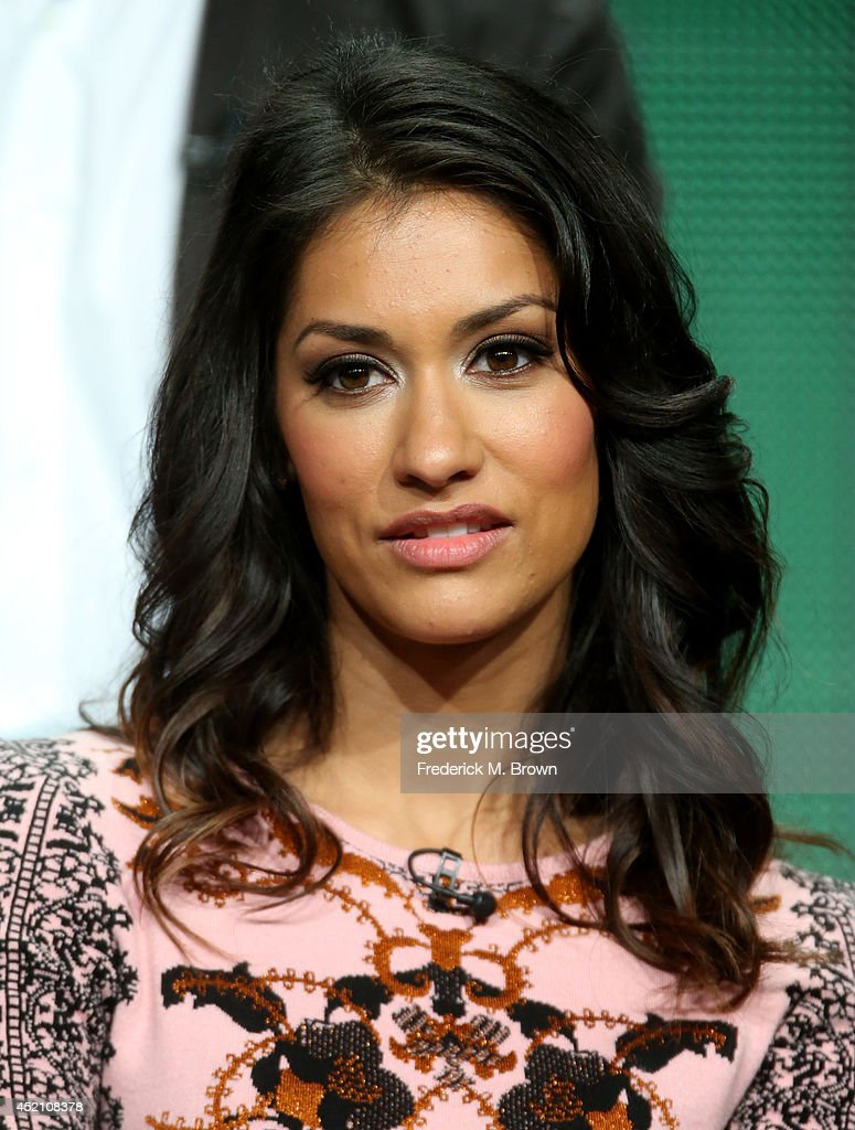 Actress Janina Gavankar speaks onstage at the 'The Mysteries of Laura' panel during the NBCUniversal portion of the 2014 Summer Television Critics Association at The Beverly Hilton Hotel on July 13, 2014 in Beverly Hills, California.