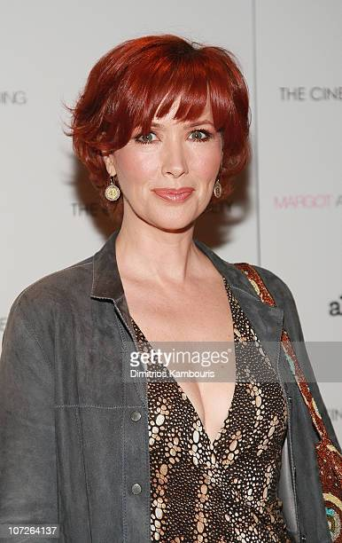 Actress Janine Turner attends the 'Margot at the Wedding' screening hosted by The Cinema Society Linda Wells at the Tribeca Grand Screening Room on...