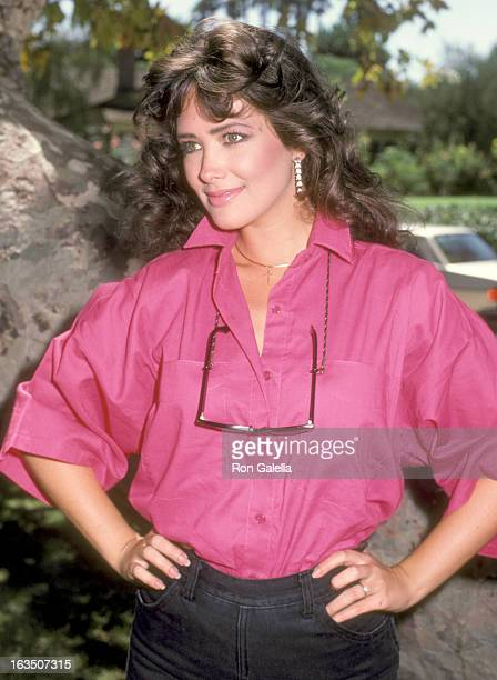 EXCLUSIVE Actress Janine Turner on August 27 1984 in at a park in Beverly Hills California