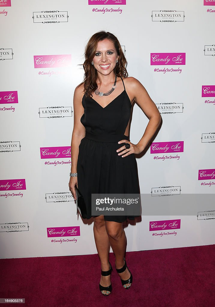 Actress Janna VanHeertum attends the Fire & Ice Gala Benefiting Fresh2o at the Lexington Social House on March 28, 2013 in Hollywood, California.