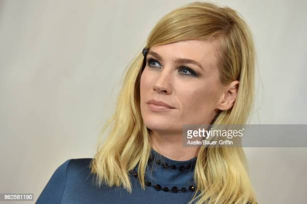 Actress January Jones arrives at Hammer Museum Gala in the Garden on October 14 2017 in Westwood California