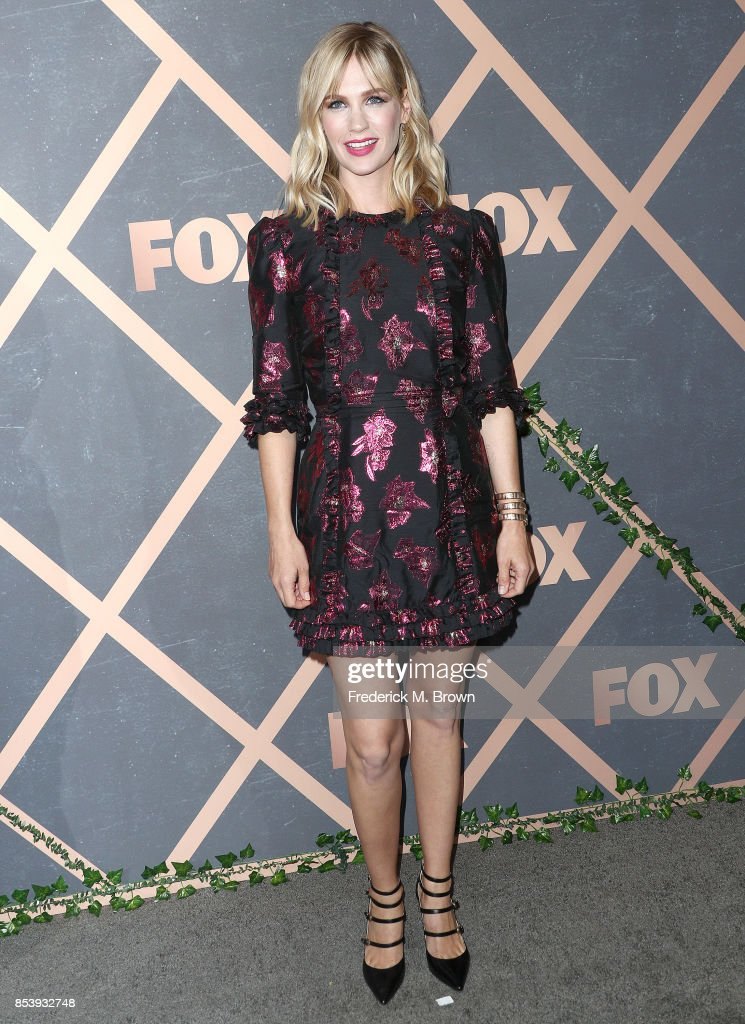 Actress January Jones attends FOX Fall Party at Catch LA on September 25, 2017 in West Hollywood, California.