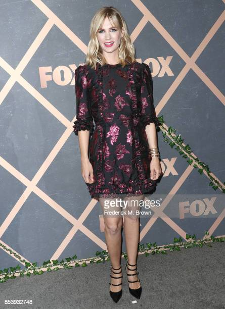 Actress January Jones attends FOX Fall Party at Catch LA on September 25 2017 in West Hollywood California